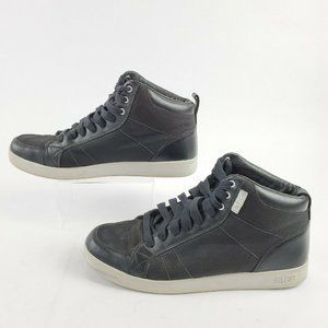 Clae Shoes Russell Style Lace Up Sneakers Black